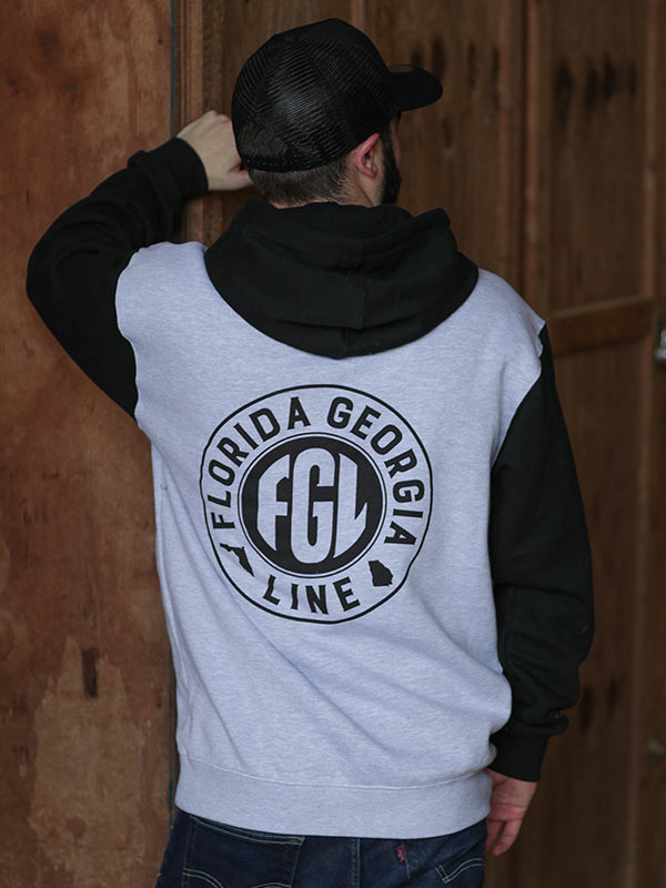 Florida Georgia Line Men's Two Tone Hoodie