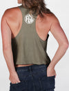 Florida Georgia Line Ladies Cropped Muscle Tank
