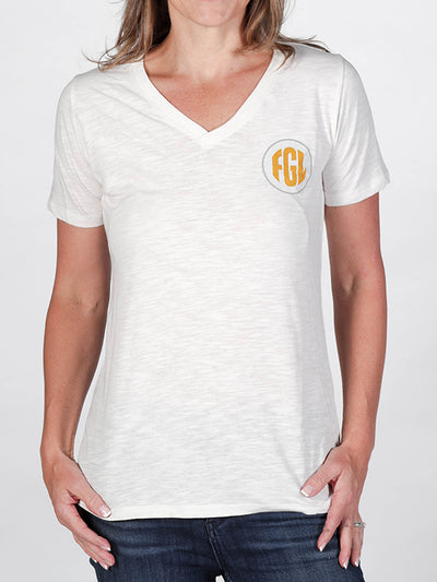 Florida Georgia Line Ladies Established Patch V-Neck