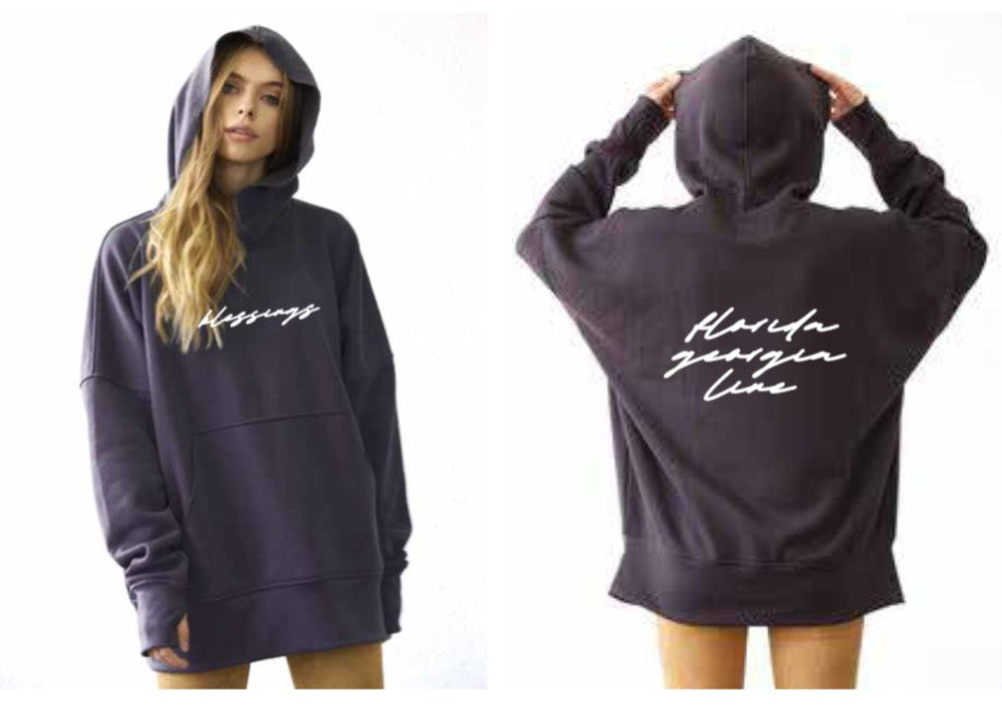 "Florida Georgia Line & Tribe Kelley Black Hoodie ""Blessings"""