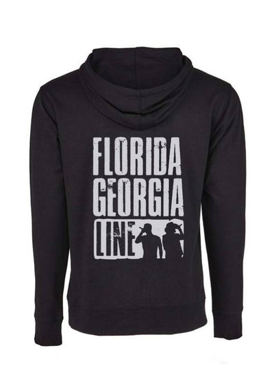 Florida Georgia Line Straight Outta Country Black Hoodie