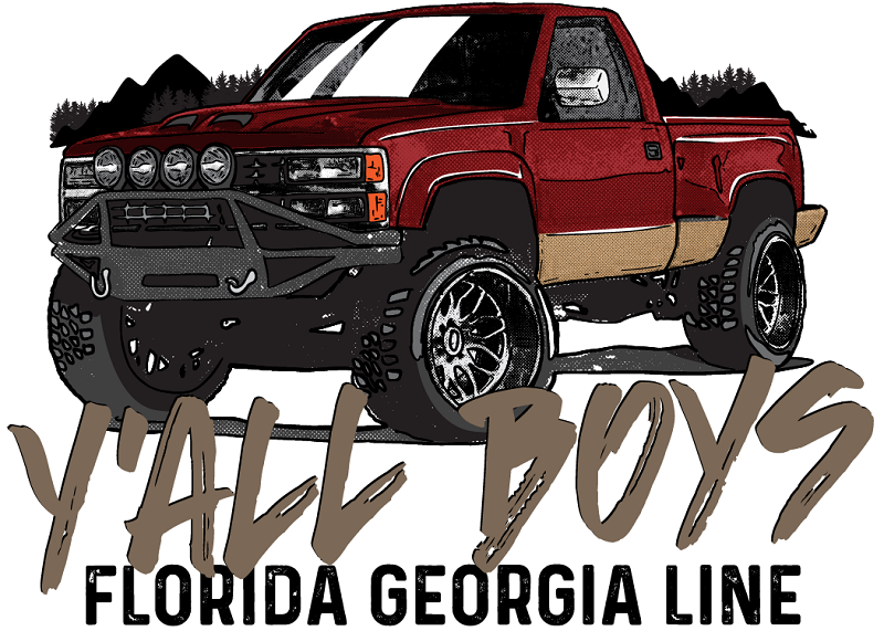 Florida Georgia Line Y'all Boys Foamie Hat