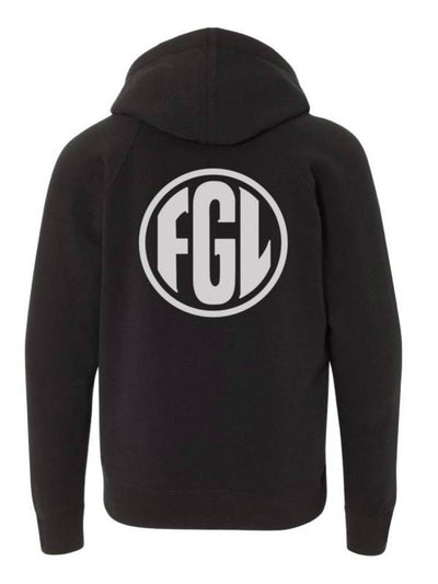 Florida Georgia Line Youth Silhouette Design Hoodie