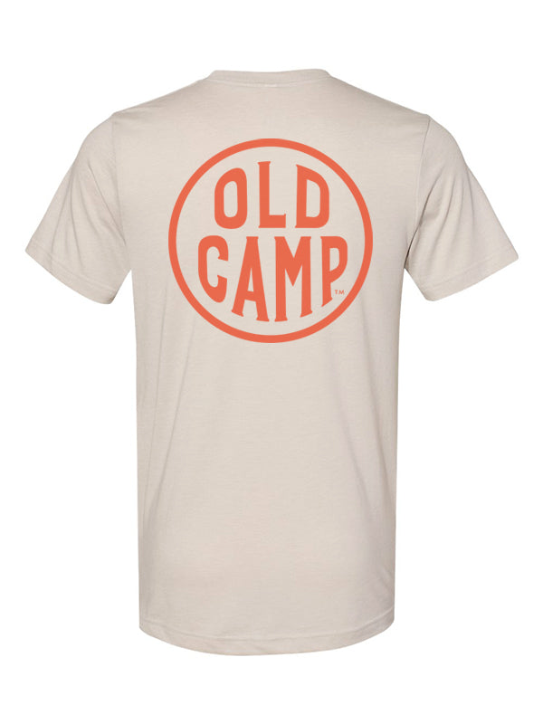 Old Camp Whiskey Unisex Heather Dust Tee