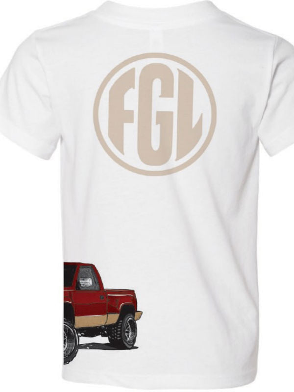 Florida Georgia Line Youth Wraparound Stepside Tee