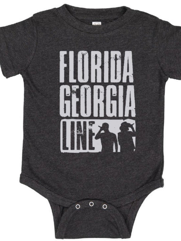Florida Georgia Line Straight Outta Country Onesie