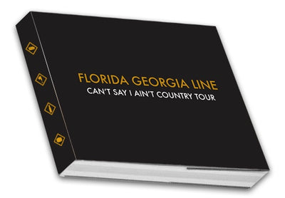 "Florida Georgia Line ""Cant' Say I Ain't Country"" Tour Book"