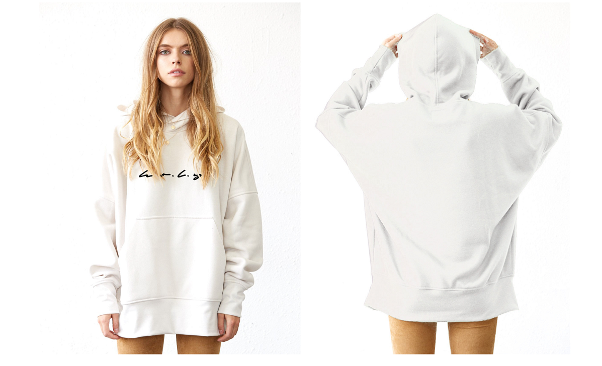 Florida Georgia Line & Tribe Kelley Cream Hoodie H.O.L.Y