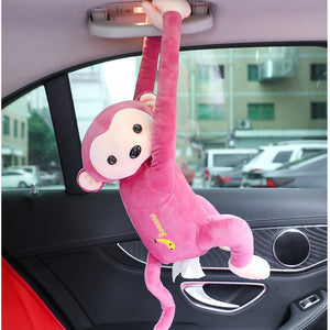 Hang it! Creative Monkey Tissue Box