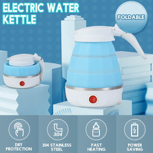 Electric Kettle Silicone Travel Mini Foldable