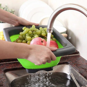 Kitchen Folding Strainer Bowls