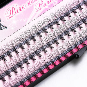 Fashion 60pcs Makeup Cluster Eye Lashes