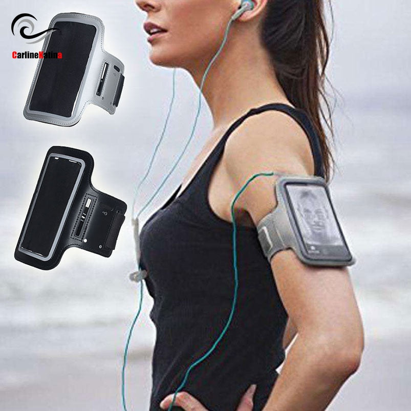 BLACK Waterproof Running Armband