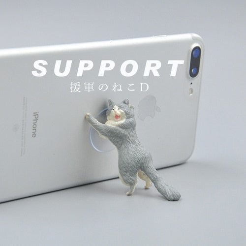 Adorable Phone Holder Cute Cat
