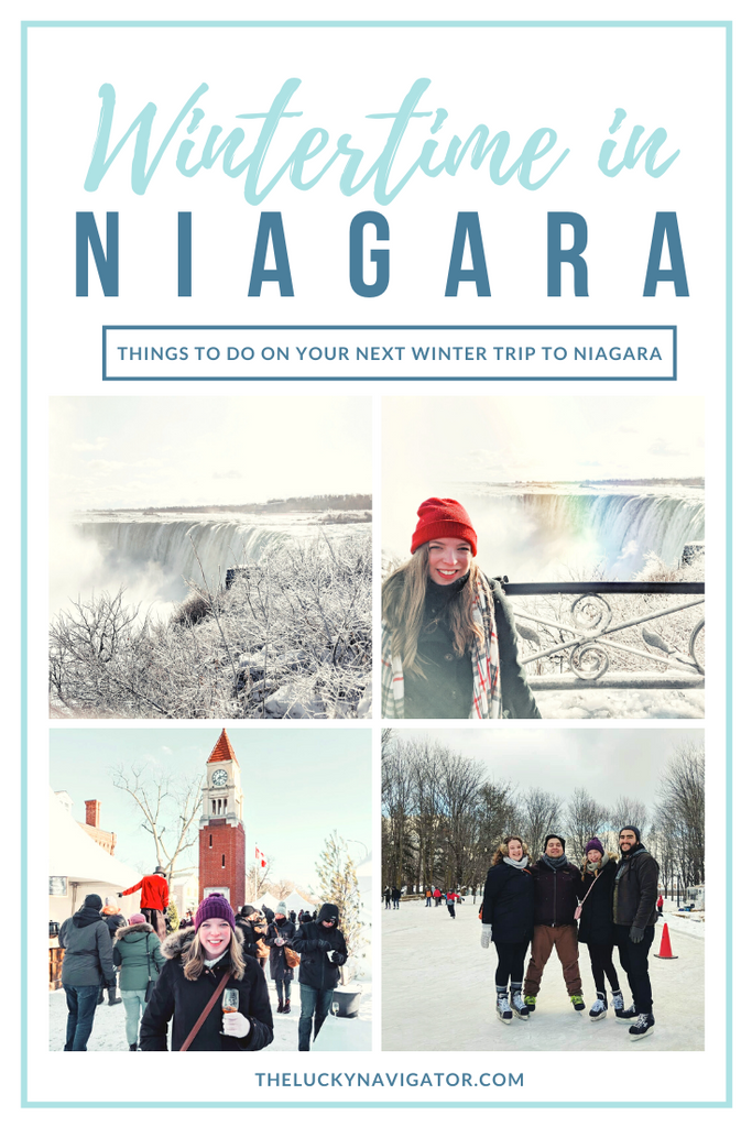 Wintertime in Niagara