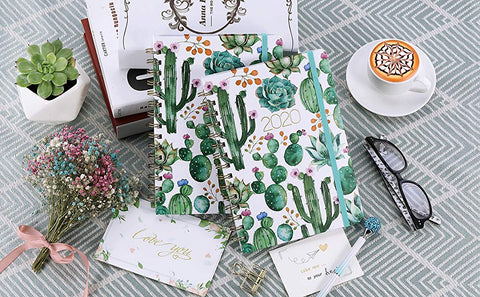 2020 Planner with Vibrant Cactus