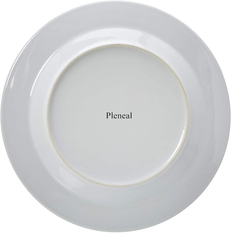 Pleneal Basics 18-Piece Square Kitchen Dinnerware Set, Dishes, Bowls, Service for 6, Modern Beams