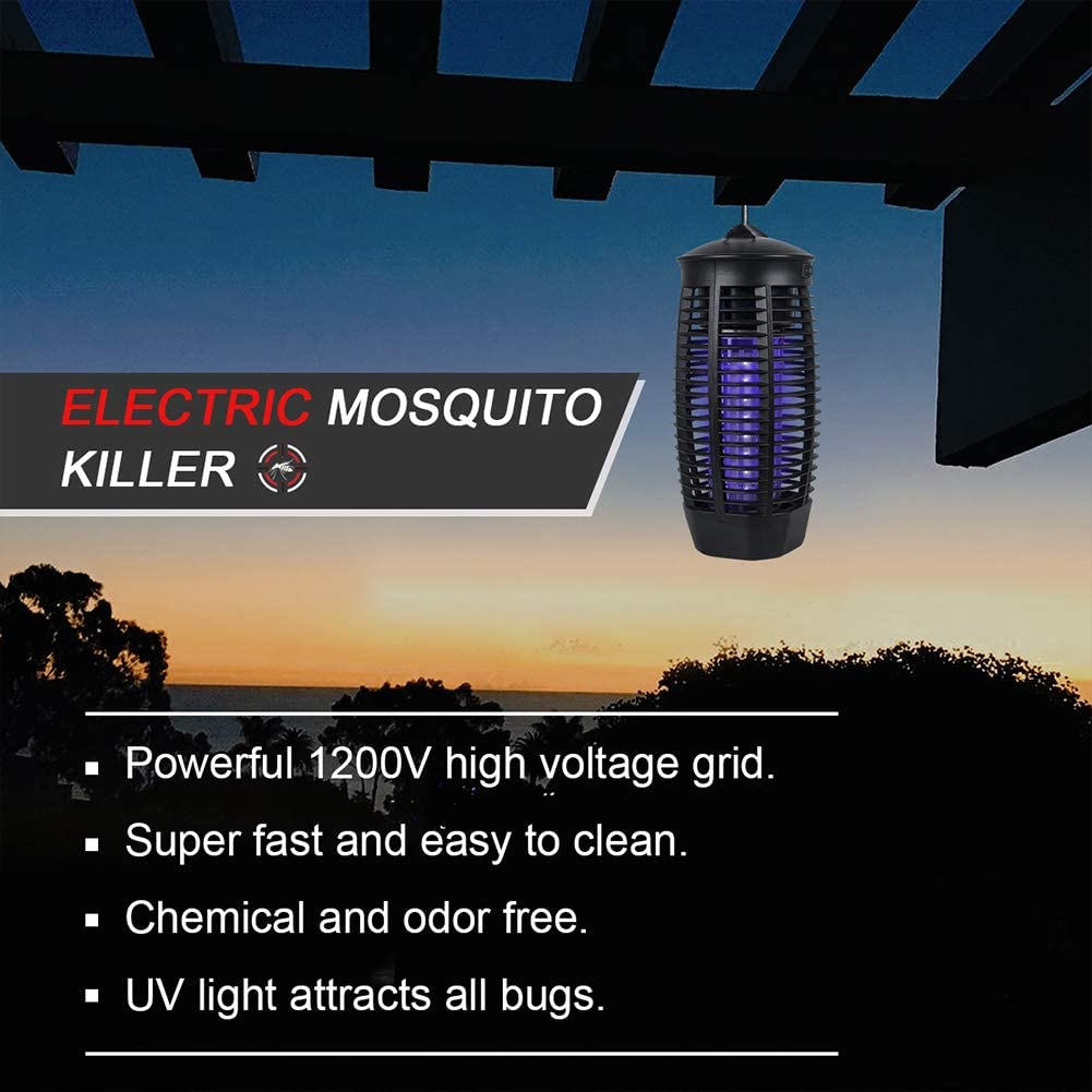 Pleneal Insects Killer - Fly Trap Outdoor Patio - Insect Killer Zapper - Mosquito Trap - Insect Zapper - Mosquito Attractant Trap - Fly Zapper - Bug Zapper Table Top