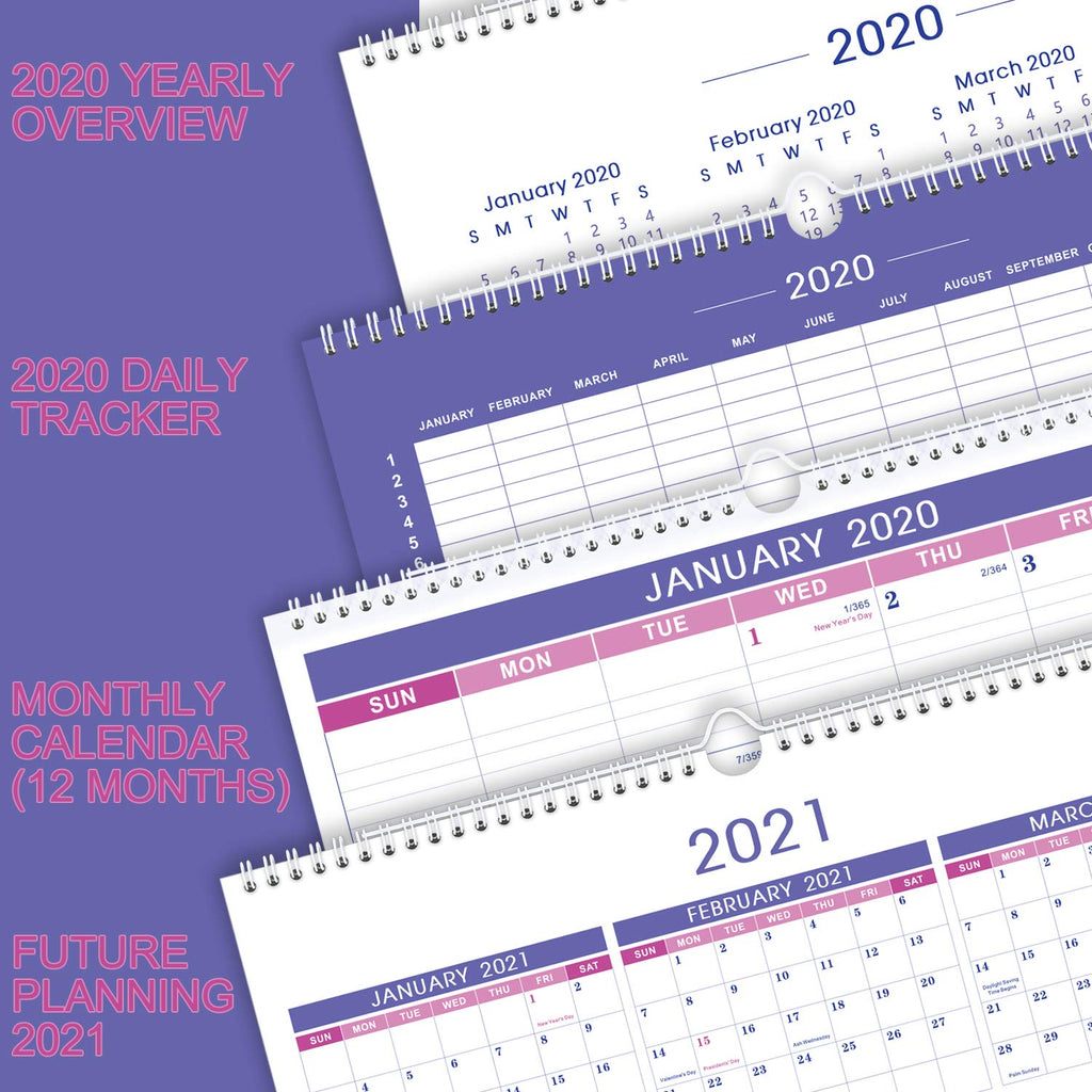 Twin-Wire-Binding Calendar