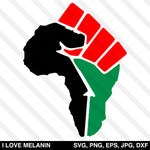 African Power Fist SVG