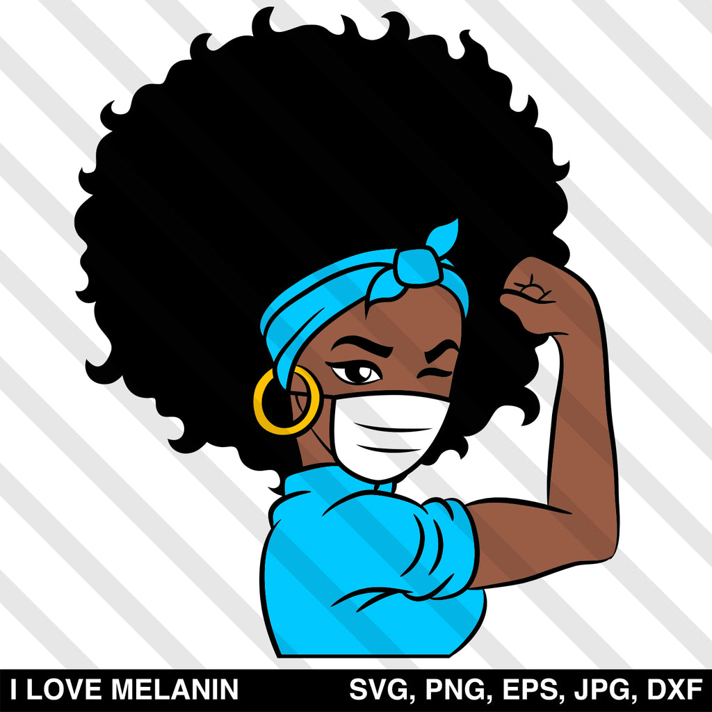 For Silhouette Black History Month SVG Afro Girl Svg Sublimation png Afro Woman SVG Black Woman For Cricut Afro Lady Svg