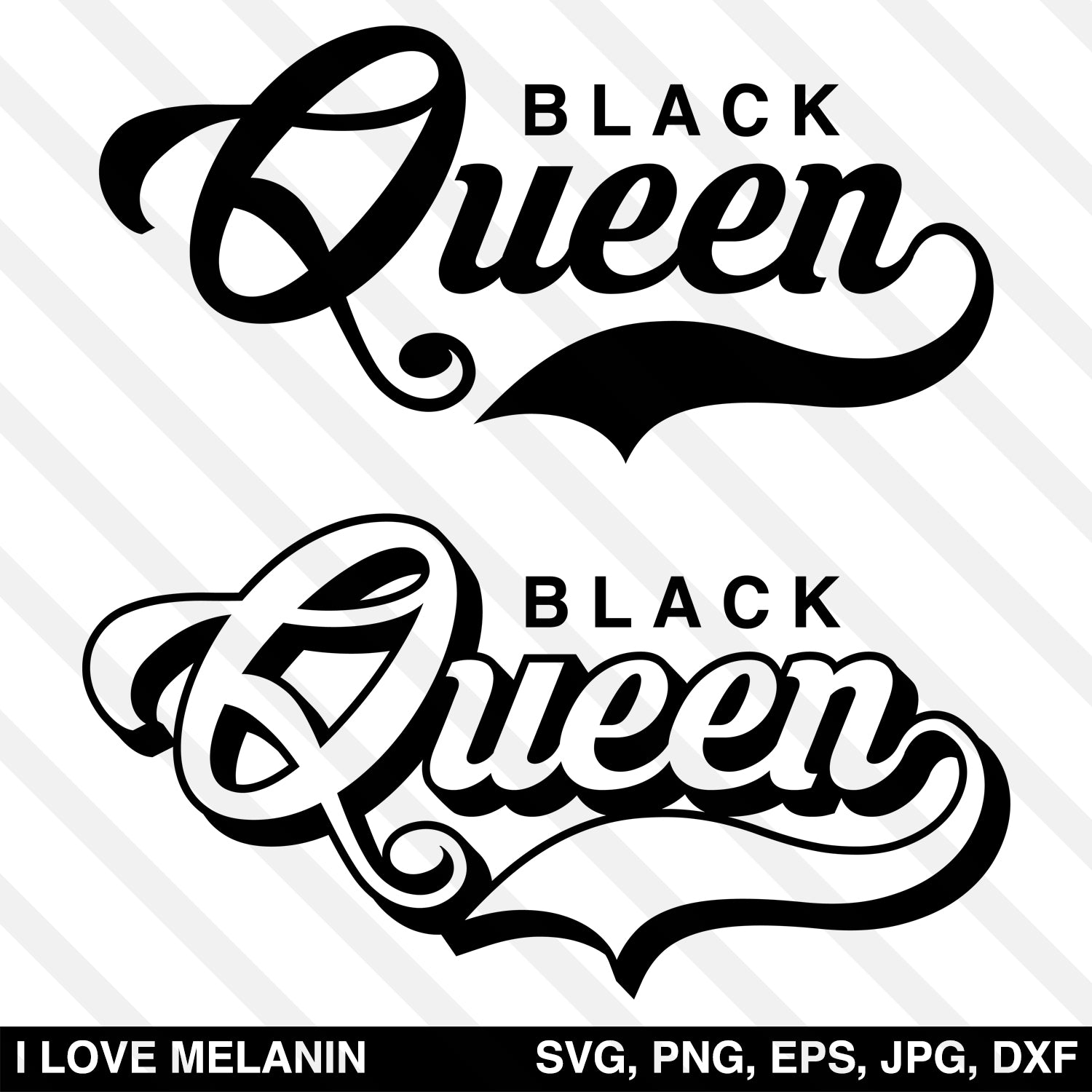 Black Queen SVG