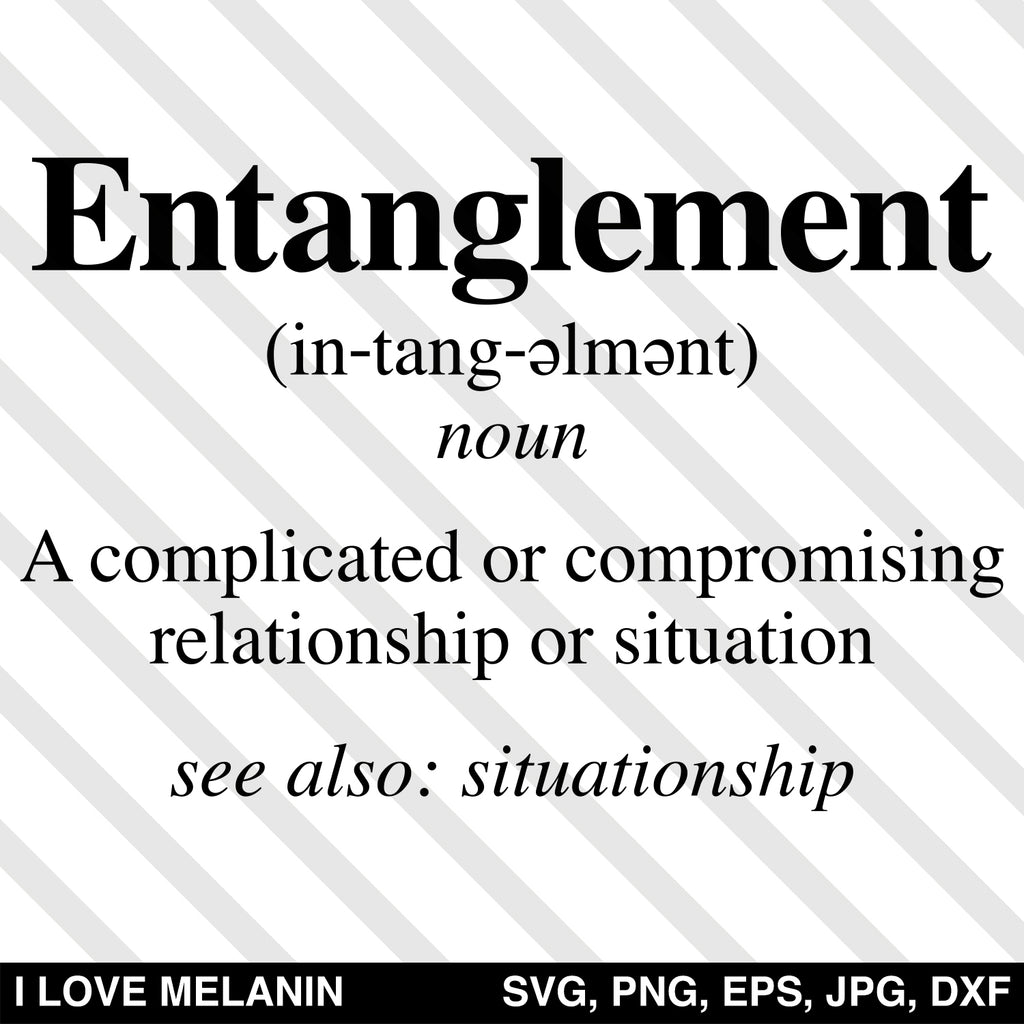 Entanglement Definition SVG