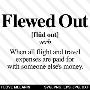Flewed Out Definition SVG