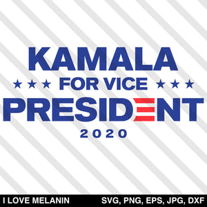 Kamala For Vice President 2020 SVG