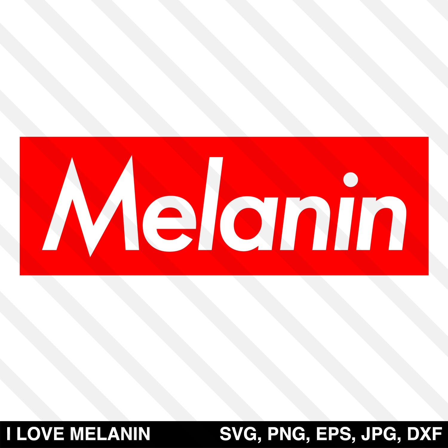 Melanin Box SVG