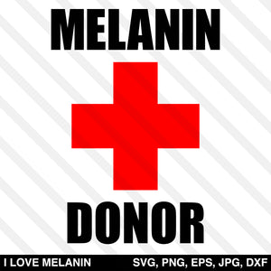 Melanin Donor SVG