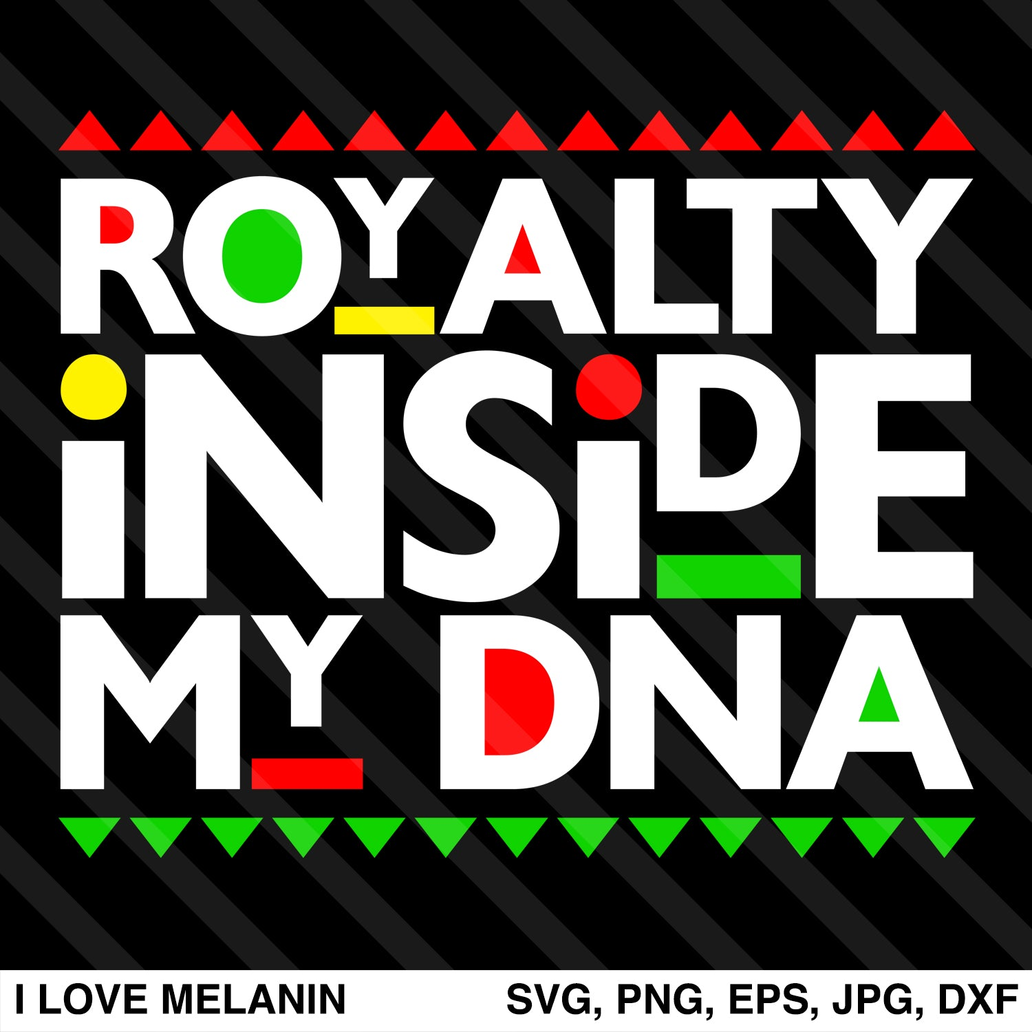 Royalty Inside My DNA SVG