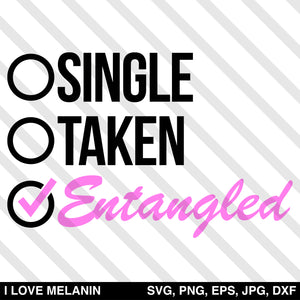 Single Taken Entangled SVG