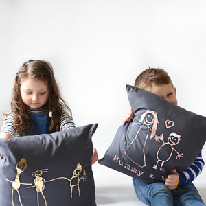 gifts made from children's drawings