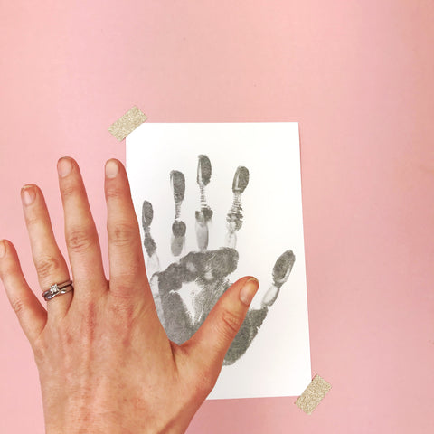 how to get the best baby handprint
