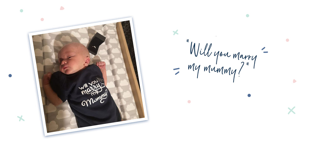 Personalised Baby Vest for a Perfect Proposal