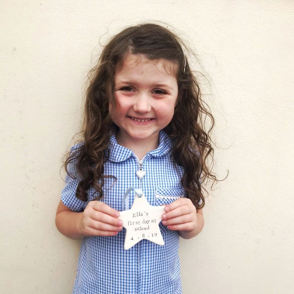 First Day at School Keepsake Star