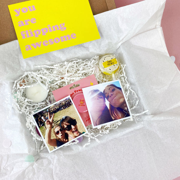 you are awesome gift box