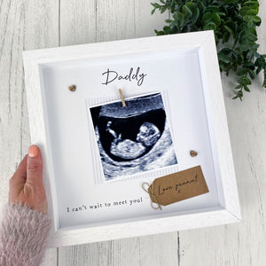 Baby Scan Daddy Photo Frame