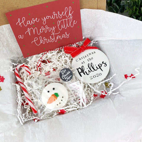Family Christmas Gift Box