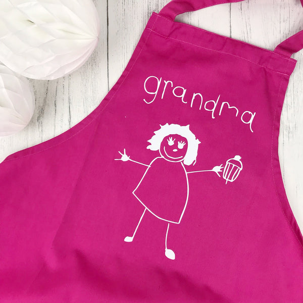 childrens drawing apron