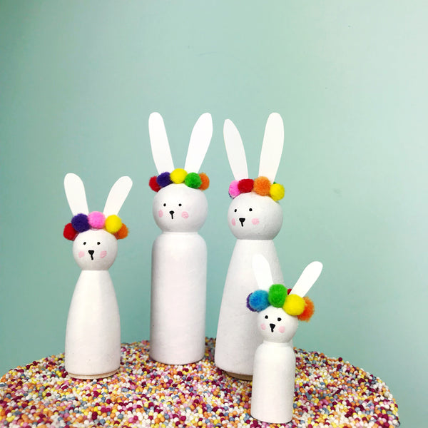 colourful easter decoration