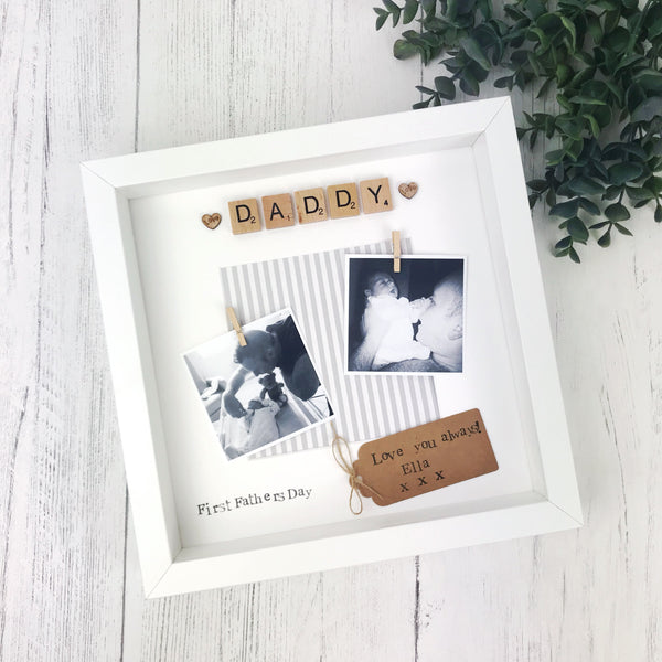 first fathers day photo frame
