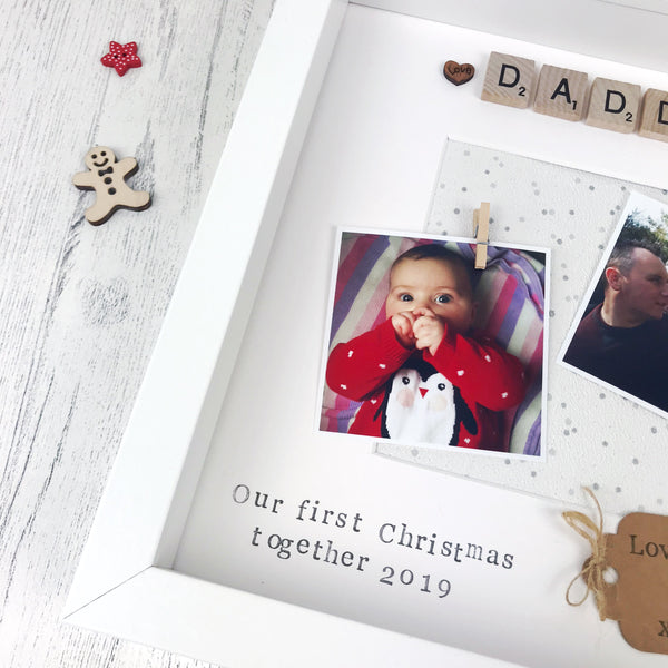 First Christmas Photo Frame