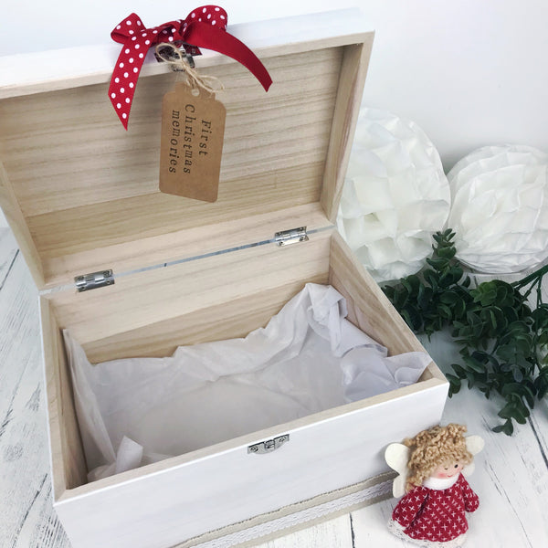 First Christmas Keepsake Box