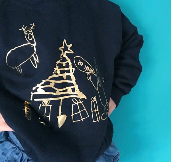 Draw Your Own Christmas Jumper