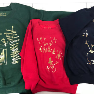 Draw Your Own Christmas Jumper (adult)