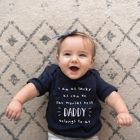 Worlds Best Daddy Custom Baby Grow