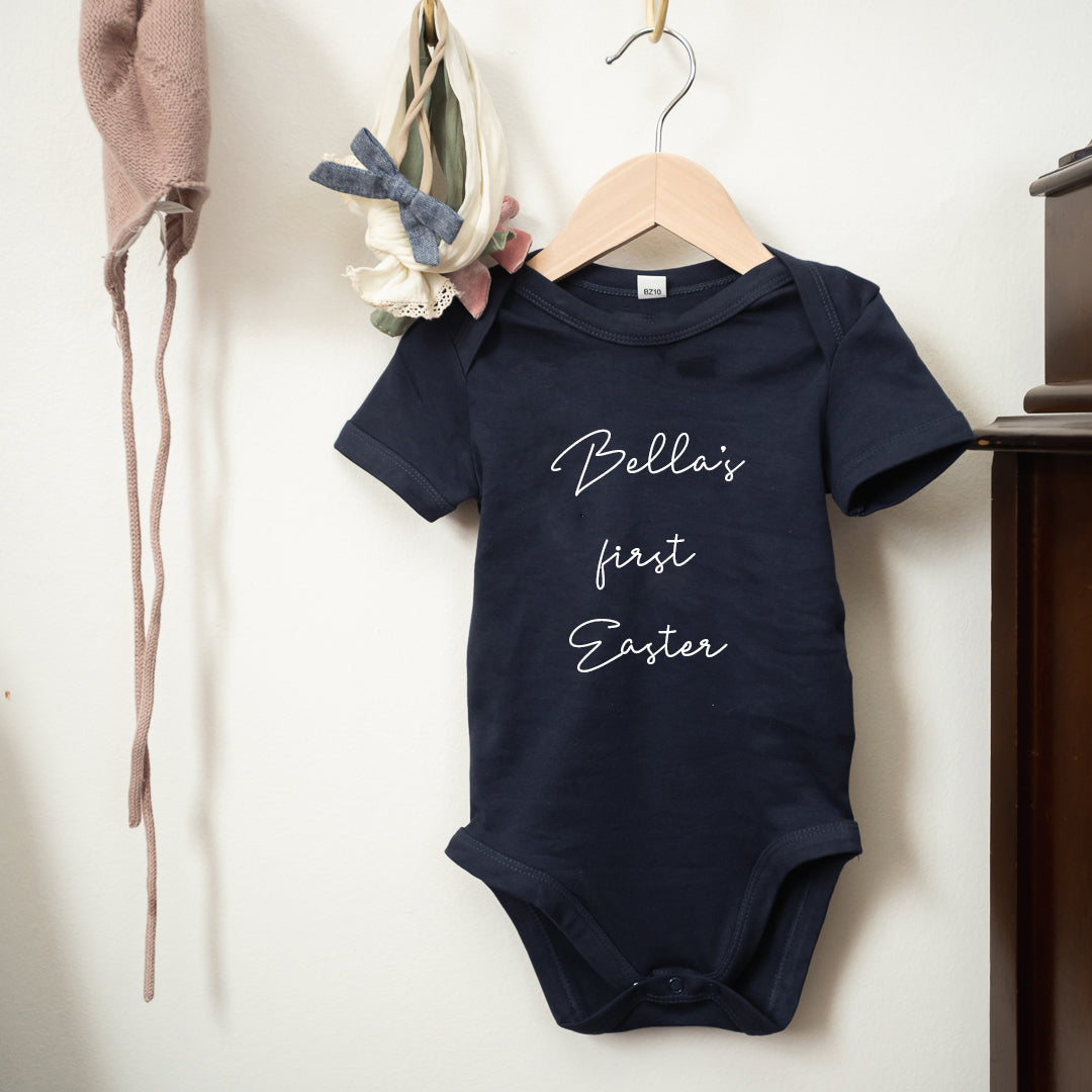 Personalised First Easter Baby Bodysuit
