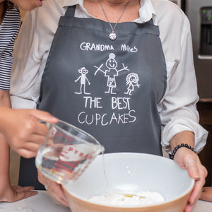 Children's Drawing Baking Apron
